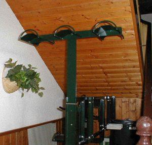 Stako - Stallausrüstung – Trensenhalter zum Aufstecken, 5-fach