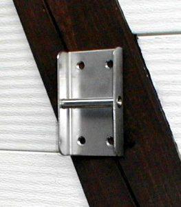 Stako - Stallausrüstung – Universalhalter für die Wandmontage aus Edelstahl